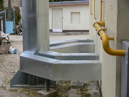 изоляция газоходов котельной